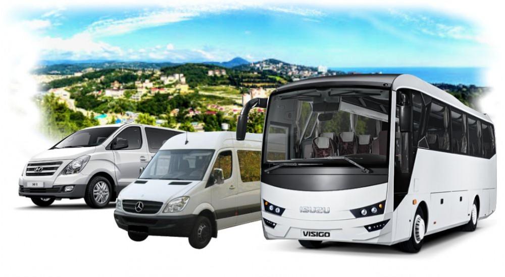 Комфортабельные автобусы и минивены