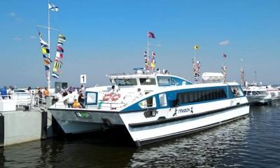 Новый морской маршрут Новороссийск - Сочи