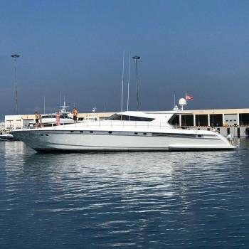 Аренда яхты VIP «Серебряная свеча»