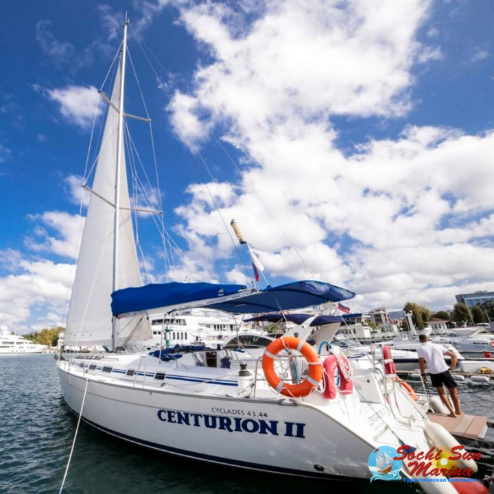 Аренда парусной яхты «Центурион»