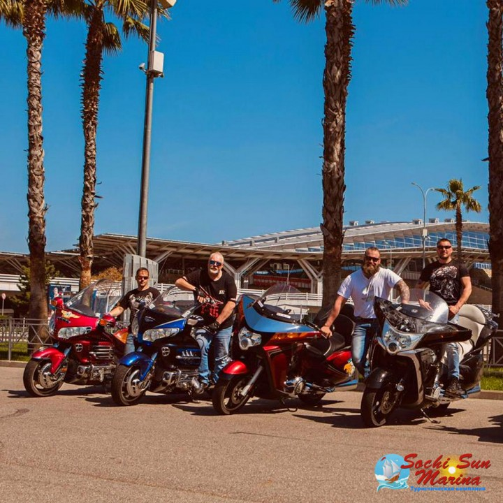 «Олимпийский парк» - мототур| Экскурсия на мотоцикле 1 час