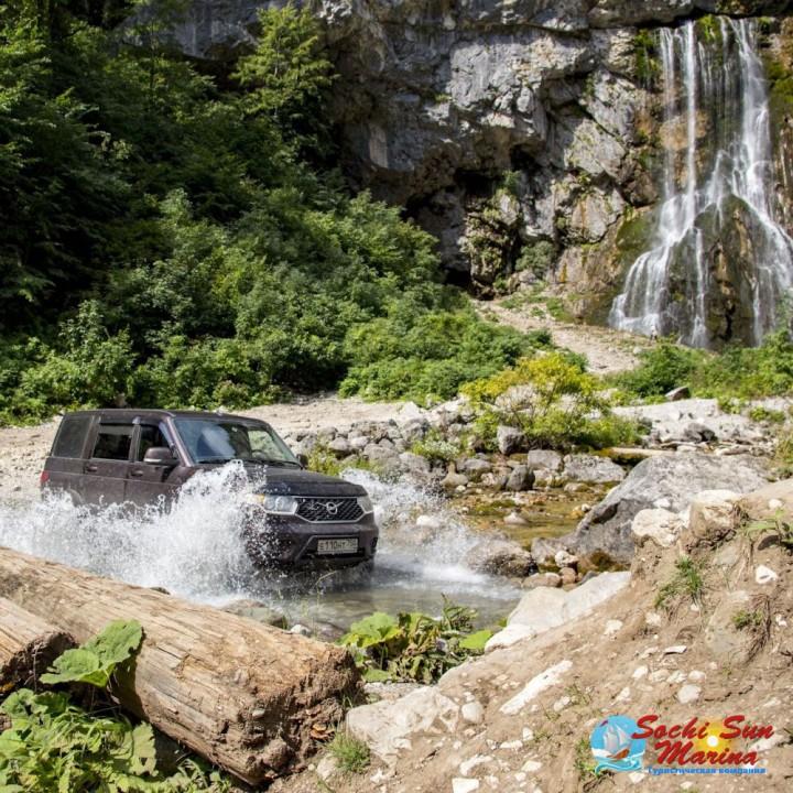 «Гегские водопады» - Абхазия | Джип-тур индивидуальный 12 часов
