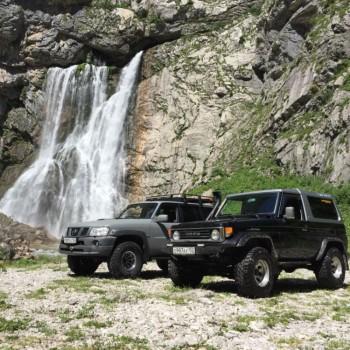 «Гегские водопады» - Абхазия |Джип-тур | Групповая экскурсия