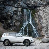 «Ореховские водопады» Джип Тур  индивидуальная экскурсия 4 часа
