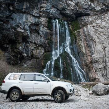 «Ореховские водопады» Джип Тур  индивидуальный-4 часа
