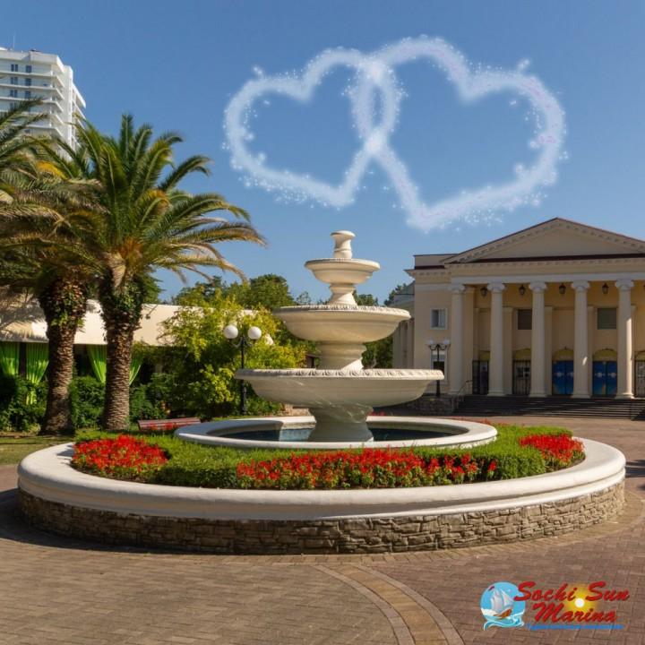 «Сочи - город любви» - пешеходная экскурсия с морской прогулкой