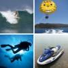 Дайвинг, парасейлинг, серфинг