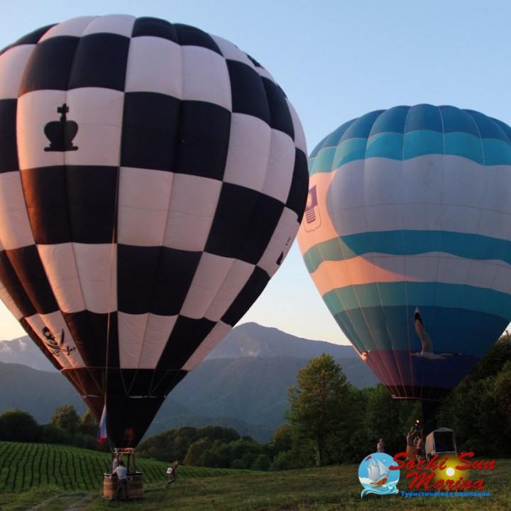 Индивидуальная экскурсия «Воздушный шар» СОЛОХАУЛ 9 часов