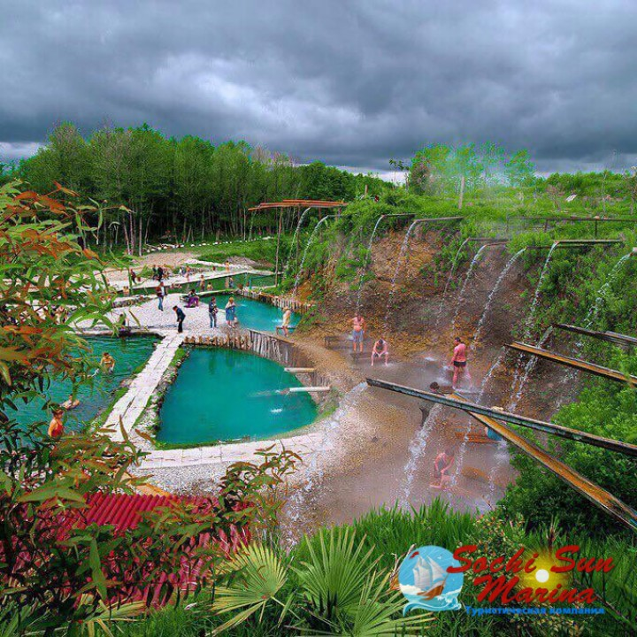 экскурсия «Термальные источники» - Абхазия