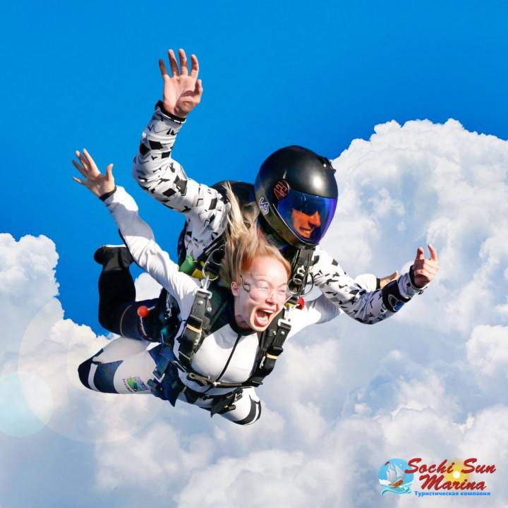 Прыжок с парашютом «Премиум»