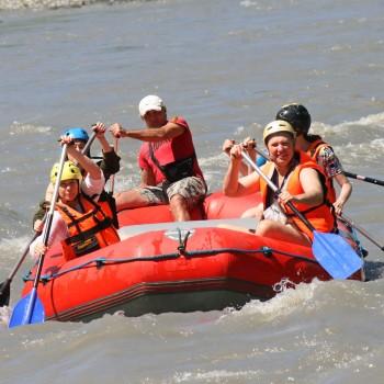 Весёлый рафтинг | Сплав по реке Мзымта