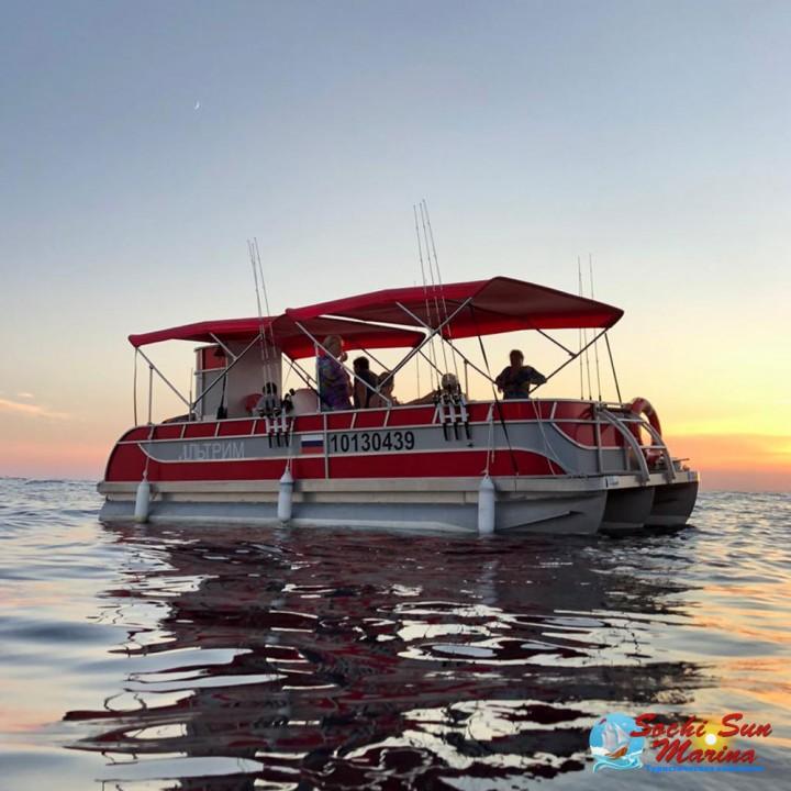 3-часовая Индивидуальная Морская рыбалка | Морпорт Сочи
