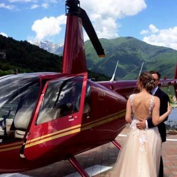 Полет на вертолете «Олимпийский парк»