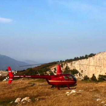 Полет на вертолете «Гора Ахун»